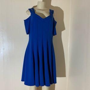 Lane Bryant Blue Dress Size: 14